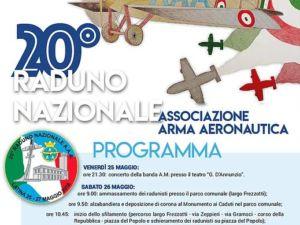 20° Raduno Nazionale dell'Associazione Arma Aeronautica a Latina