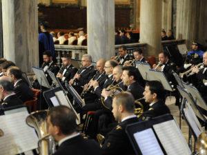 Concerto della banda musicale dell'Aeronautica Militare a Foligno